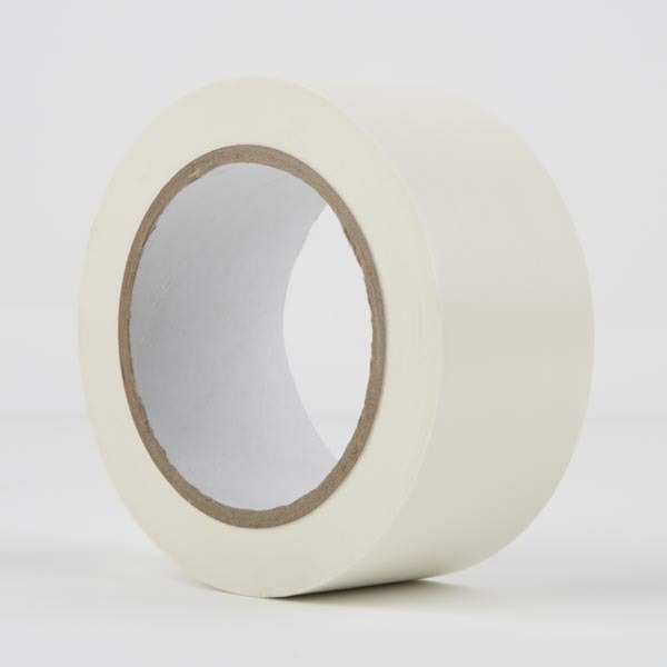 LeMark PVC Dance Floor Tape Matt White (50mm by 33 meter)