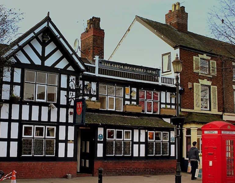 Frodsham has a number of attractive old inns