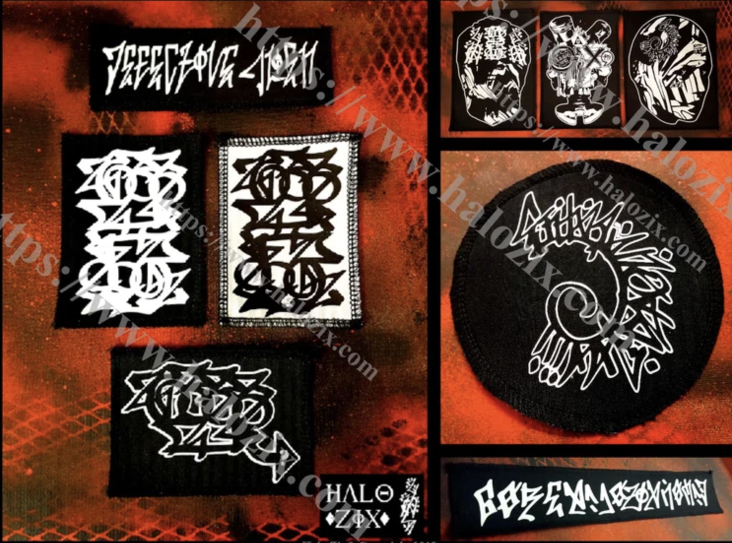 Handstyle Patches