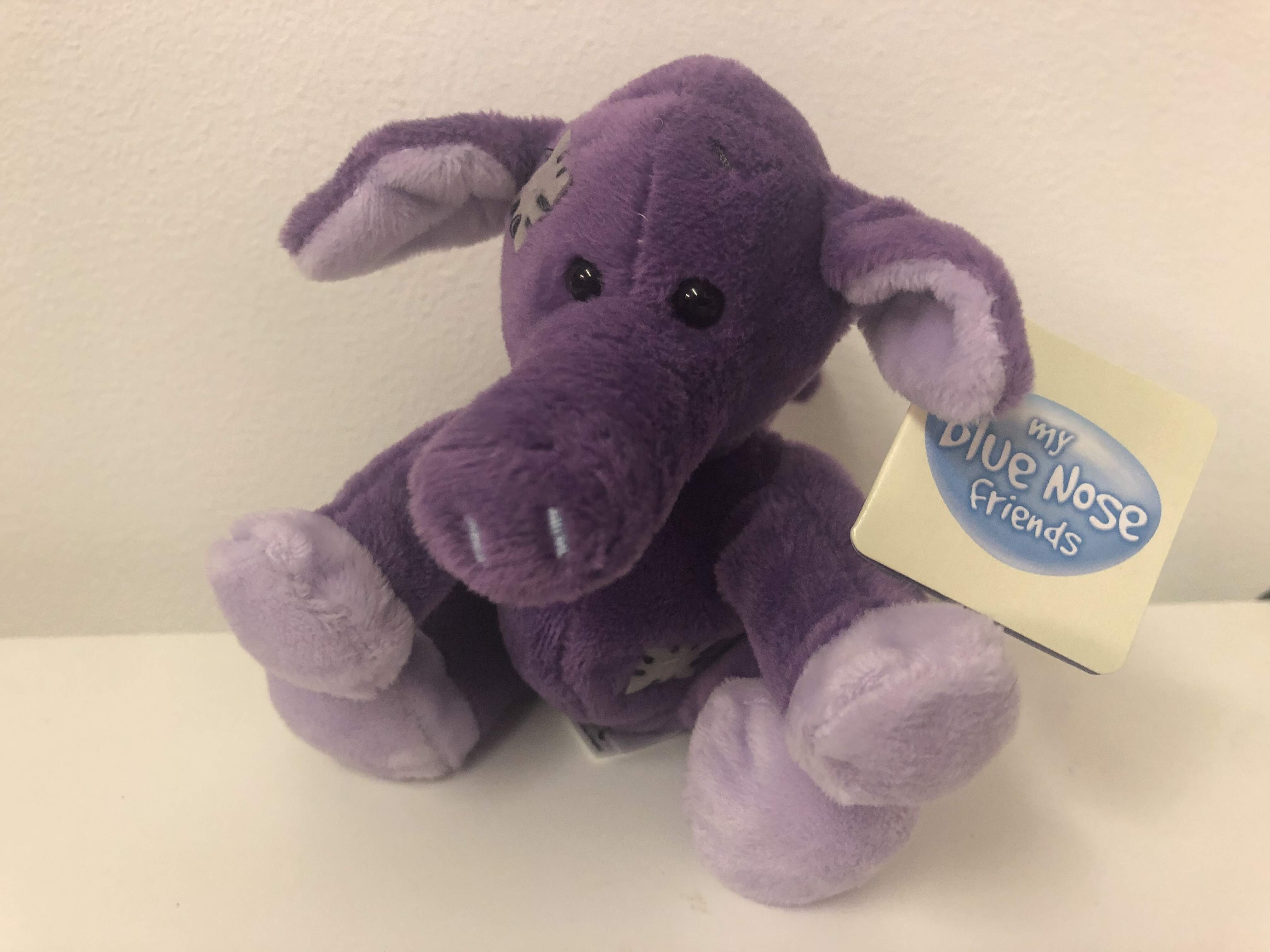 "Blue Nose Friend 4"" Annie The Aardvark"