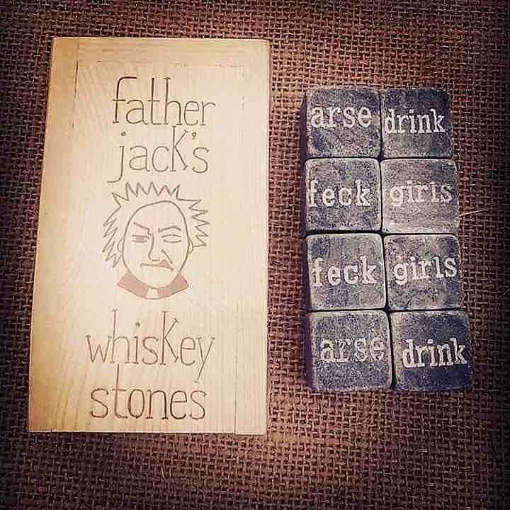 Father Jack Whiskey Chilling Stones