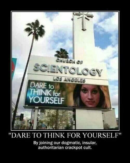Scientology - think for yourself