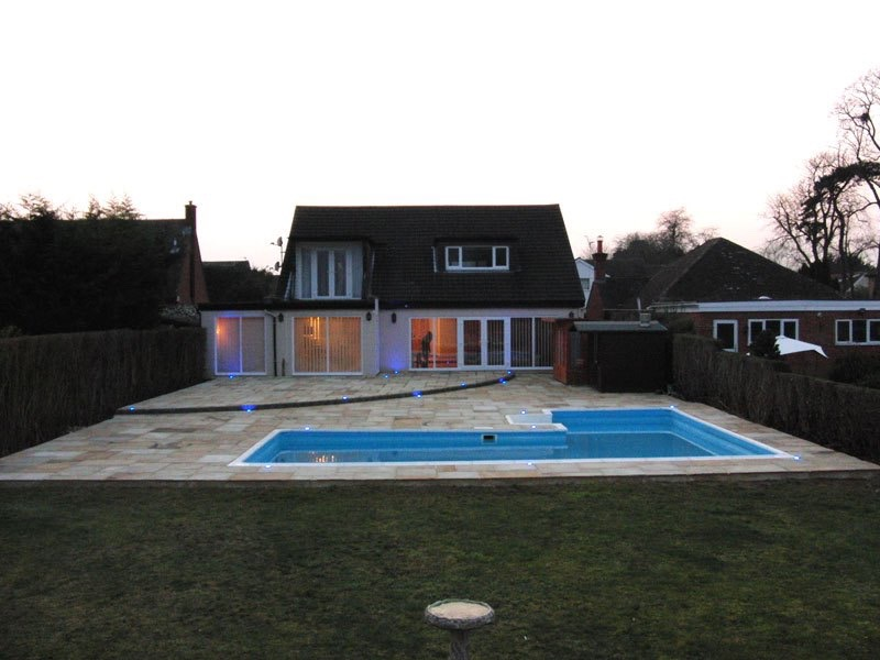 Swimming pool surrounds Wraysbury