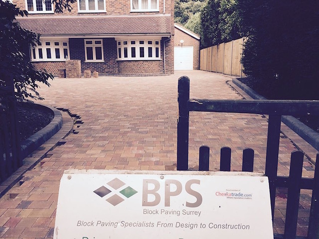 Englefield Green block paved driveways by Block Paving Surrey
