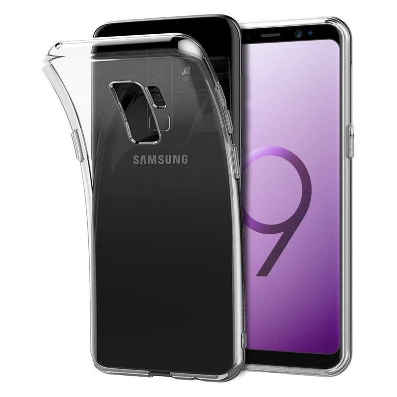 Samsung Galaxy S9 - Ultra thin 0.3mm TPU transparant Case hoesje