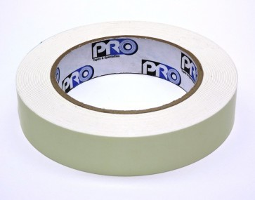 Pro Tapes Pro-Glow Glow in the Dark Tape: 1 in. x 30 ft. (Luminescent Lime Green)
