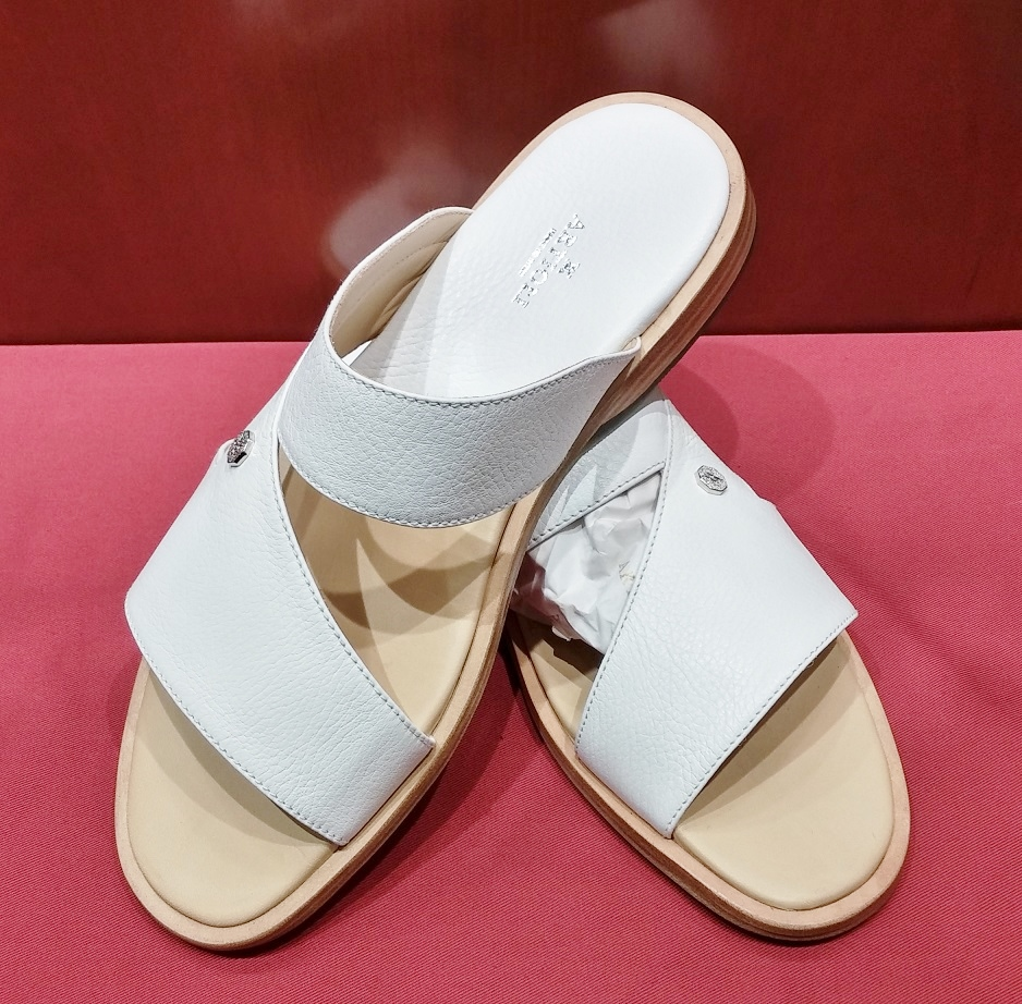 Sandal Style 50 White Leather