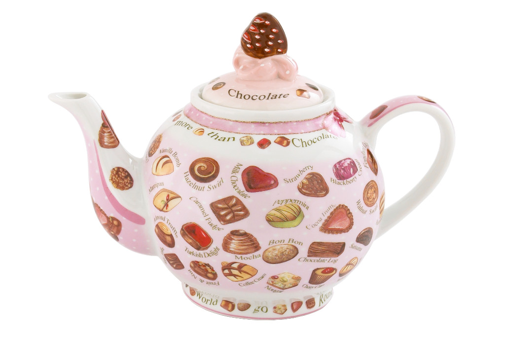 Chocolate and Cupcakes Teapot (1 liter) + gratis zakje thee!
