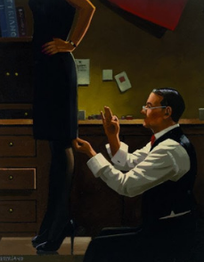The Devoted Dressmaker Jack Vettriano Limited Edition Prit