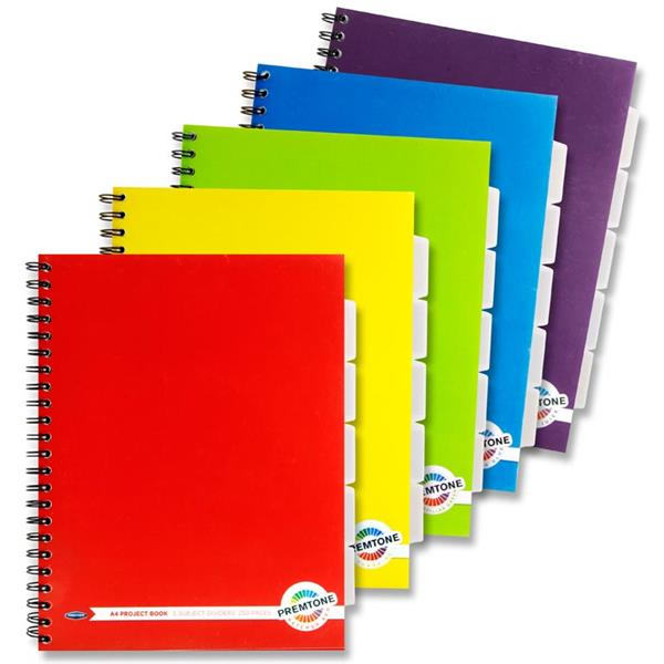 CSPE A4 Lecture Pad with Dividers (250 page)