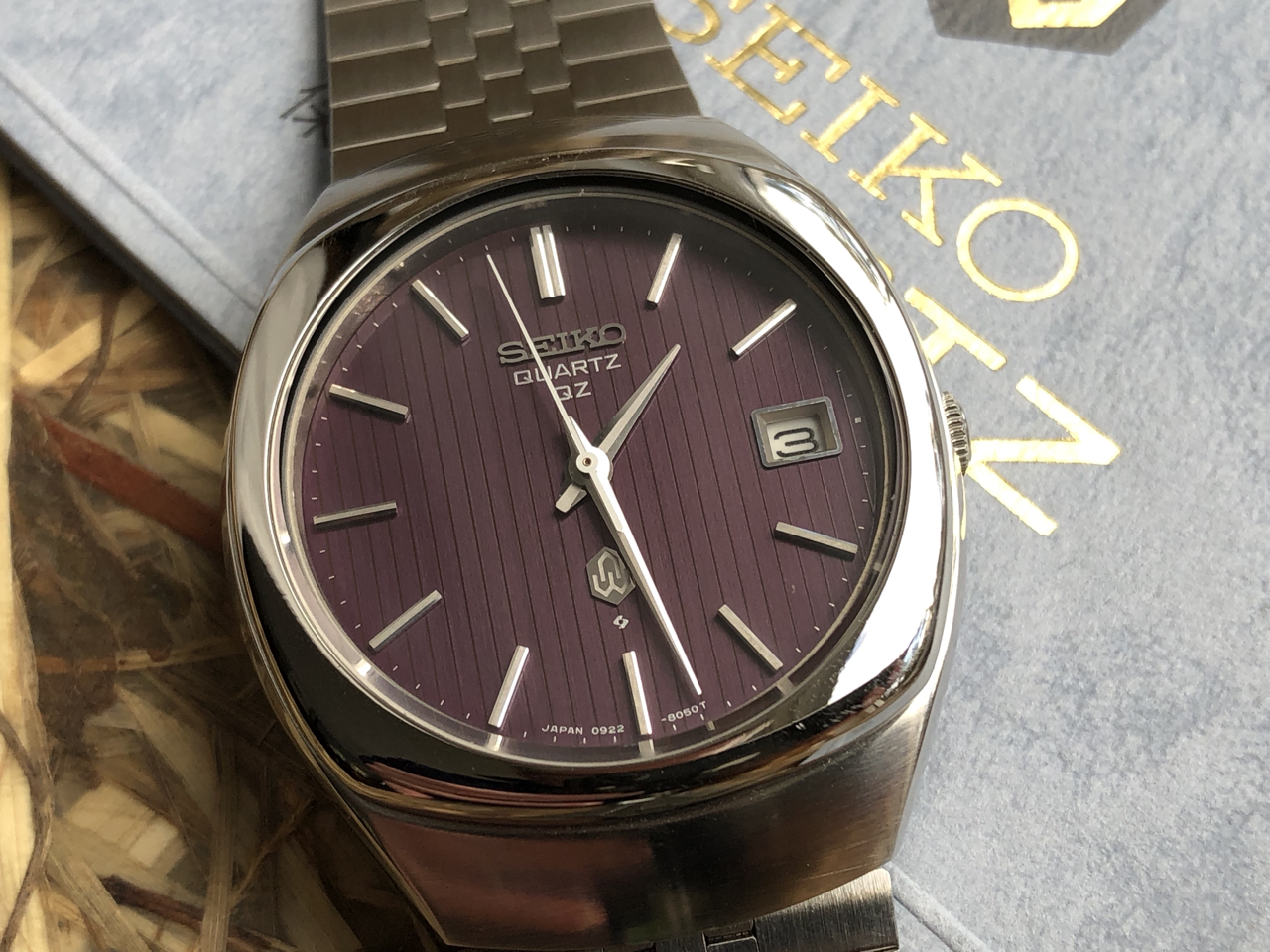 Seiko Quartz QZ 0922-8050 (Sold) - Mint condition with papers