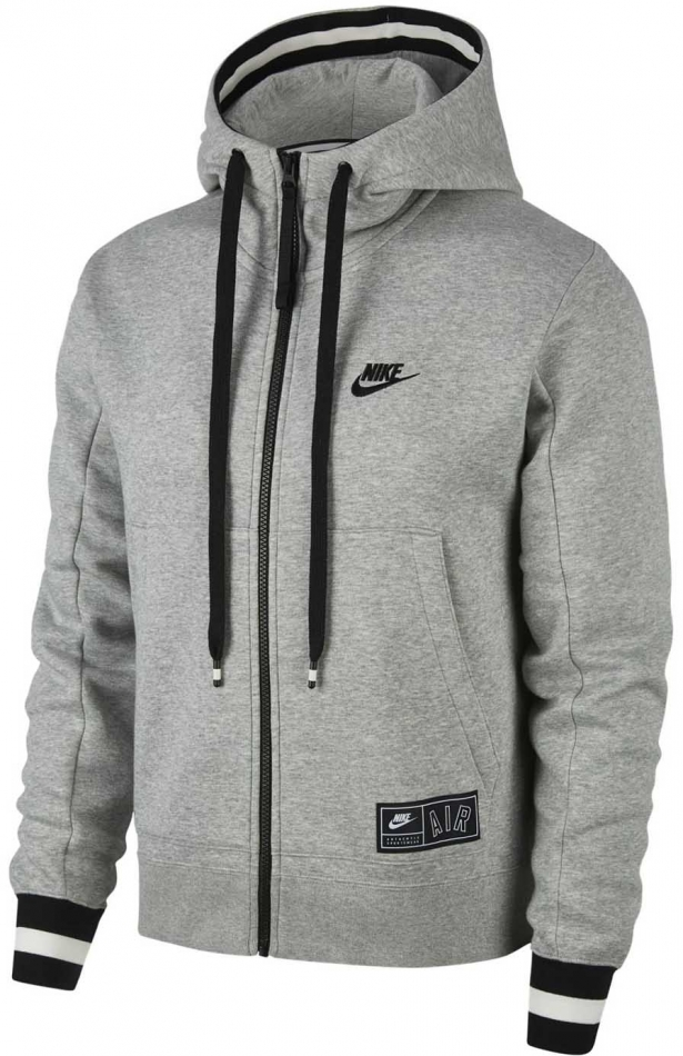 Nike Air Max Full Zip Grey-White-Black