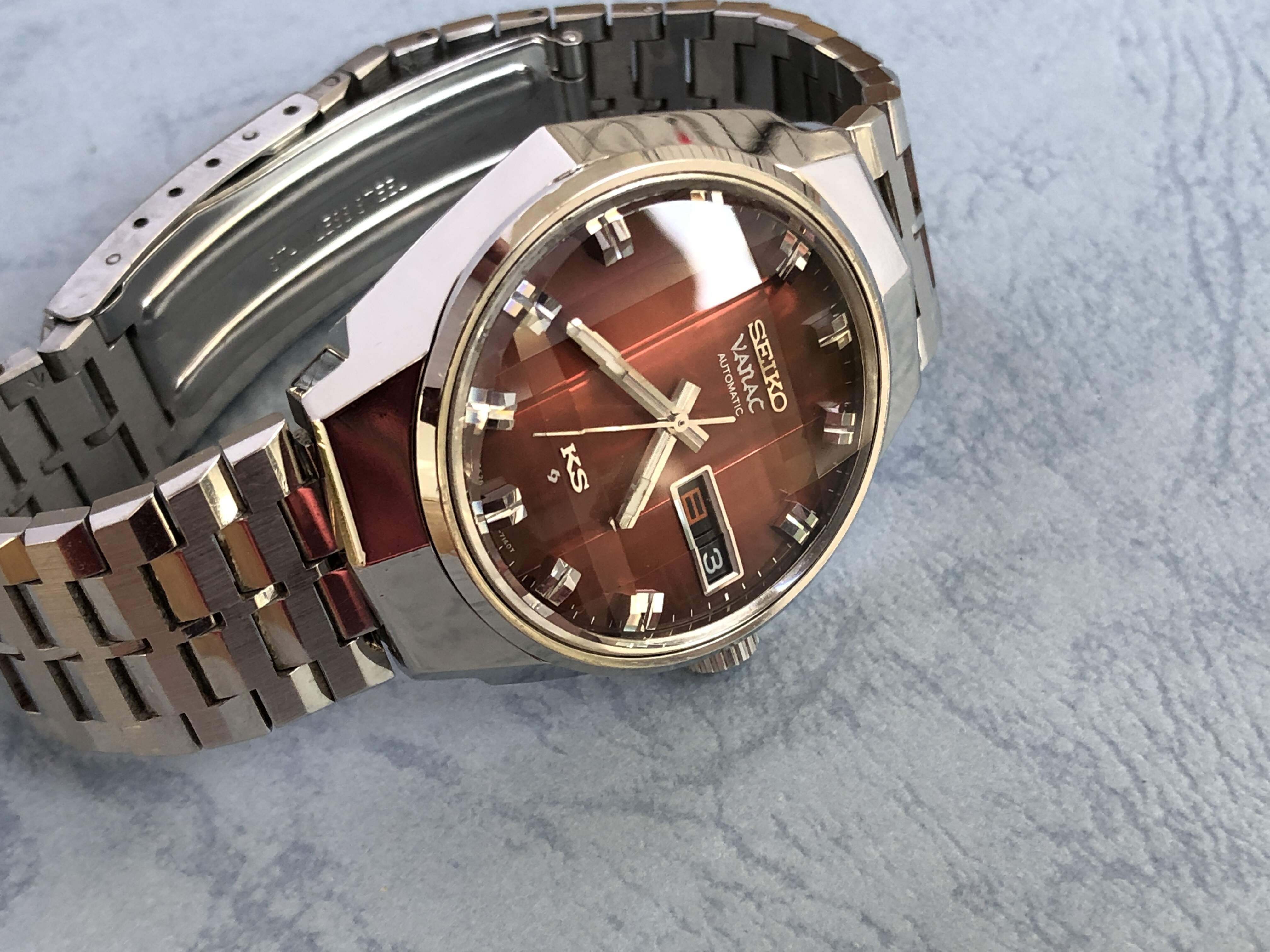 "King Seiko Vanac 5626-7140 56KAW-208 ""Big Red"""
