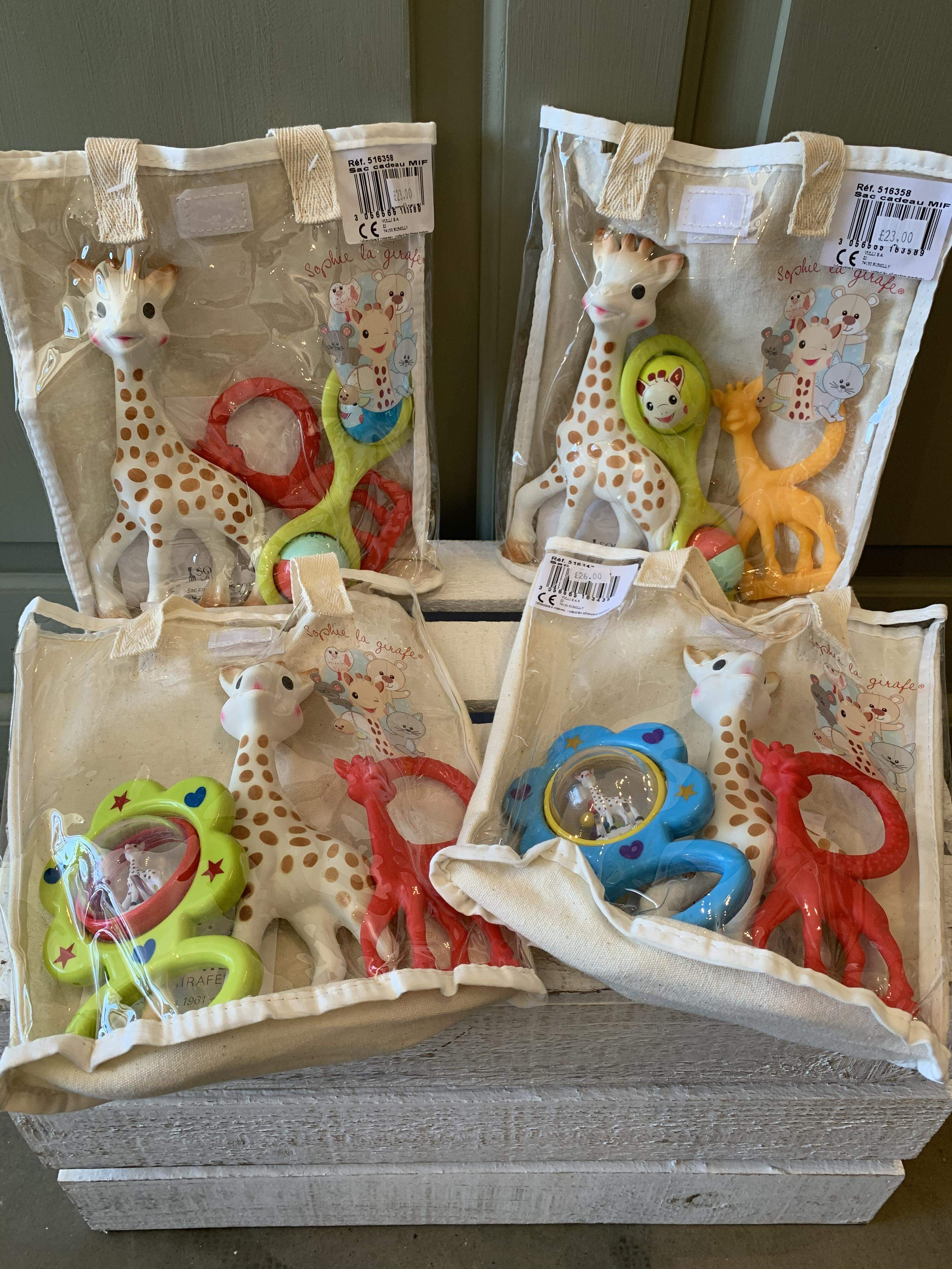 Sophie La Girafe Rattles, Teethers and Toys