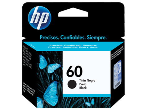 CARTUCHO  HP 60 NEGRO, ESTANDAR (CC640WL)
