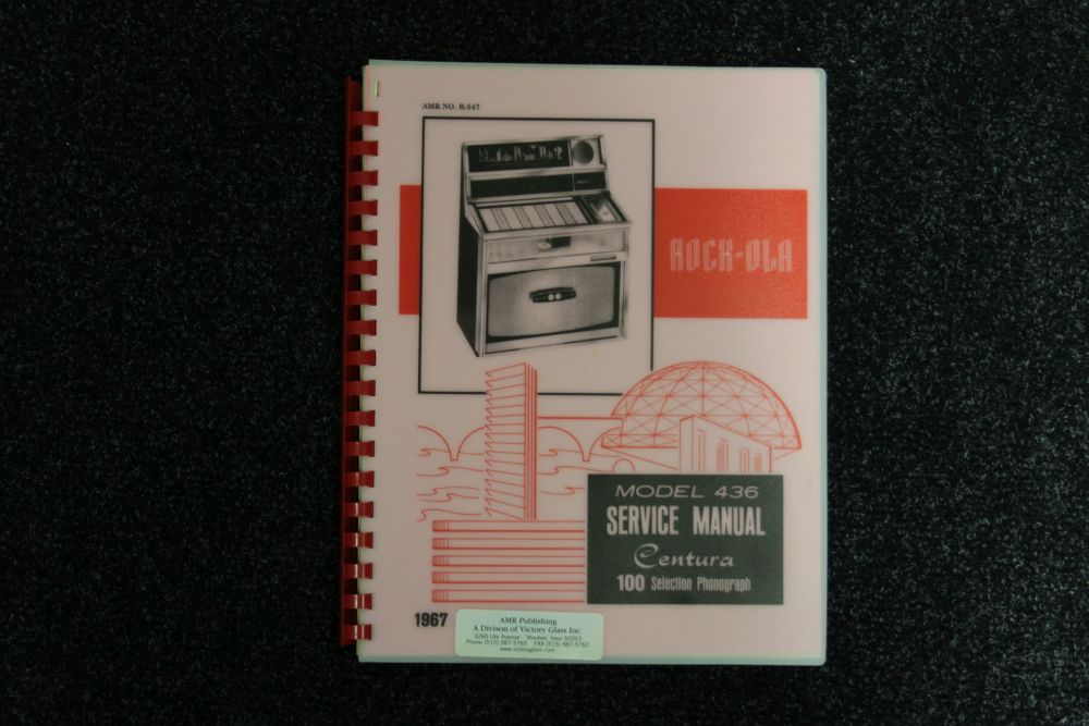 Rock-ola - Service Manual - Model 436