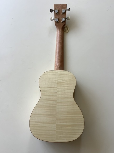 Kauai flamed maple concert ukulele