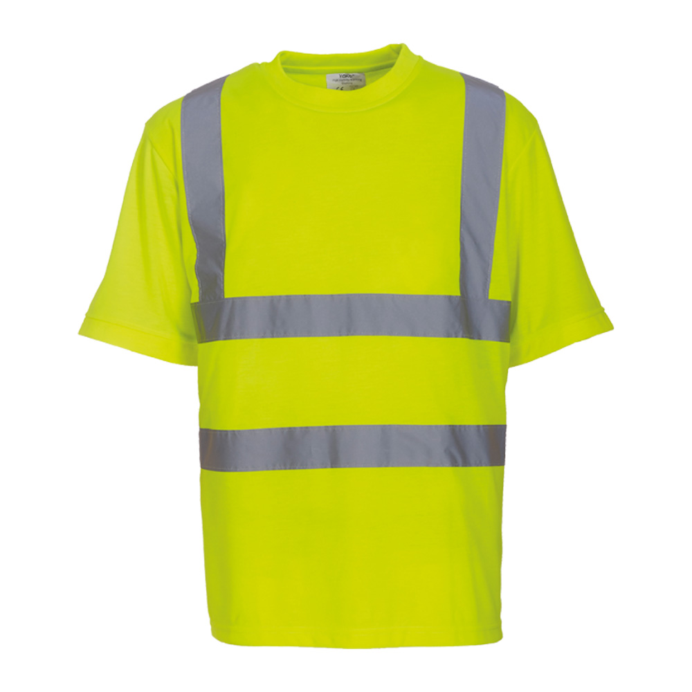Hi Vis Yellow Safety T-Shirt