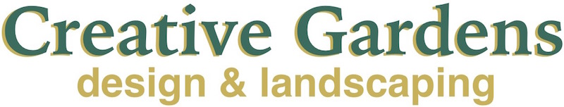 The Creative Gardens design & landscaping logo