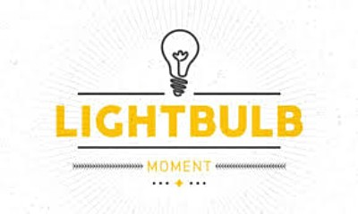 The Lightbulb Moment