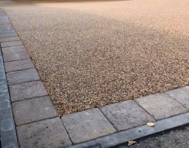 Resin bound driveways by Block Paving Surrey