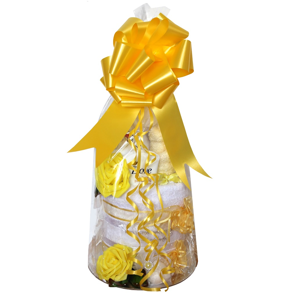 Pamper Wrap - Yellow