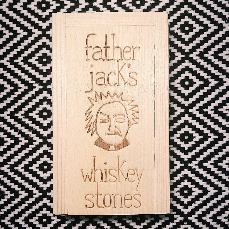 Father Jack Whiskey Stones