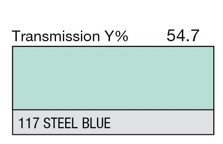 Lee 117 Steel Blue
