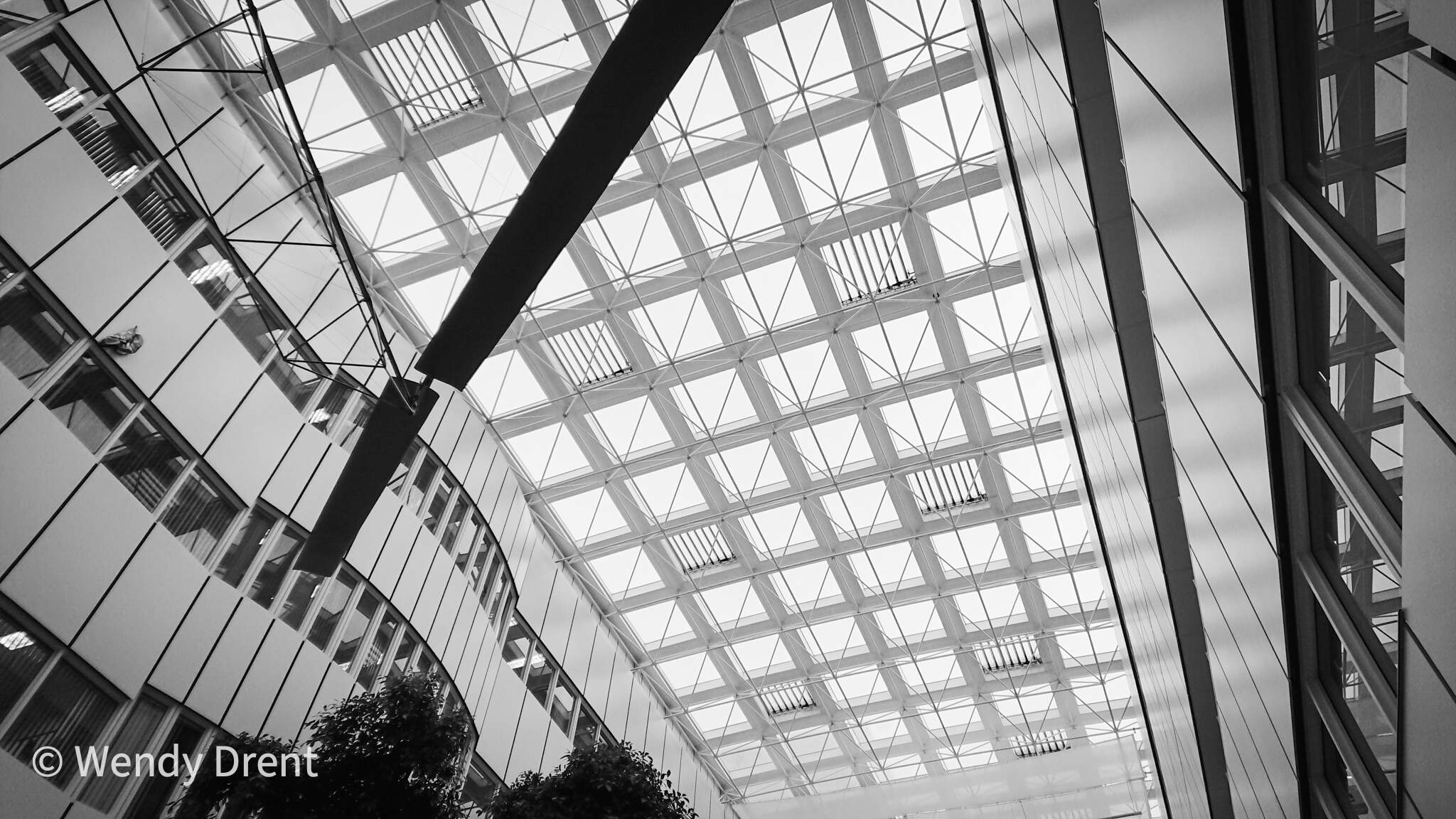 mumc+, wendydrent, architecture, black and white, abstract architecture, building, hospital, lines, light