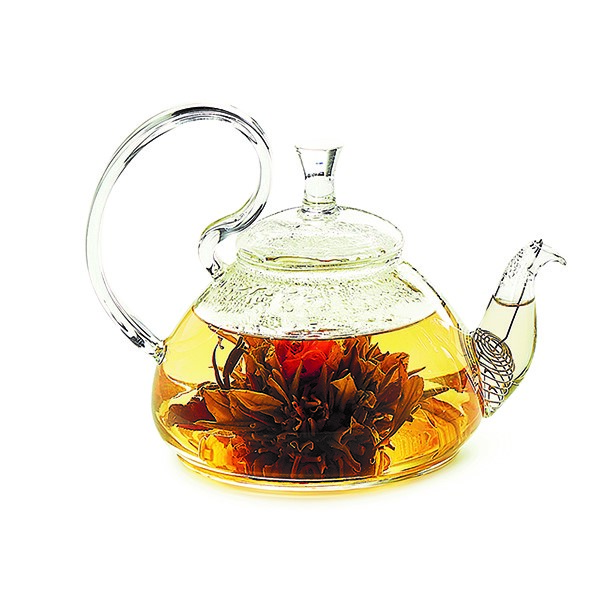Glazen Theepot (800 ml) Magic Teaflower