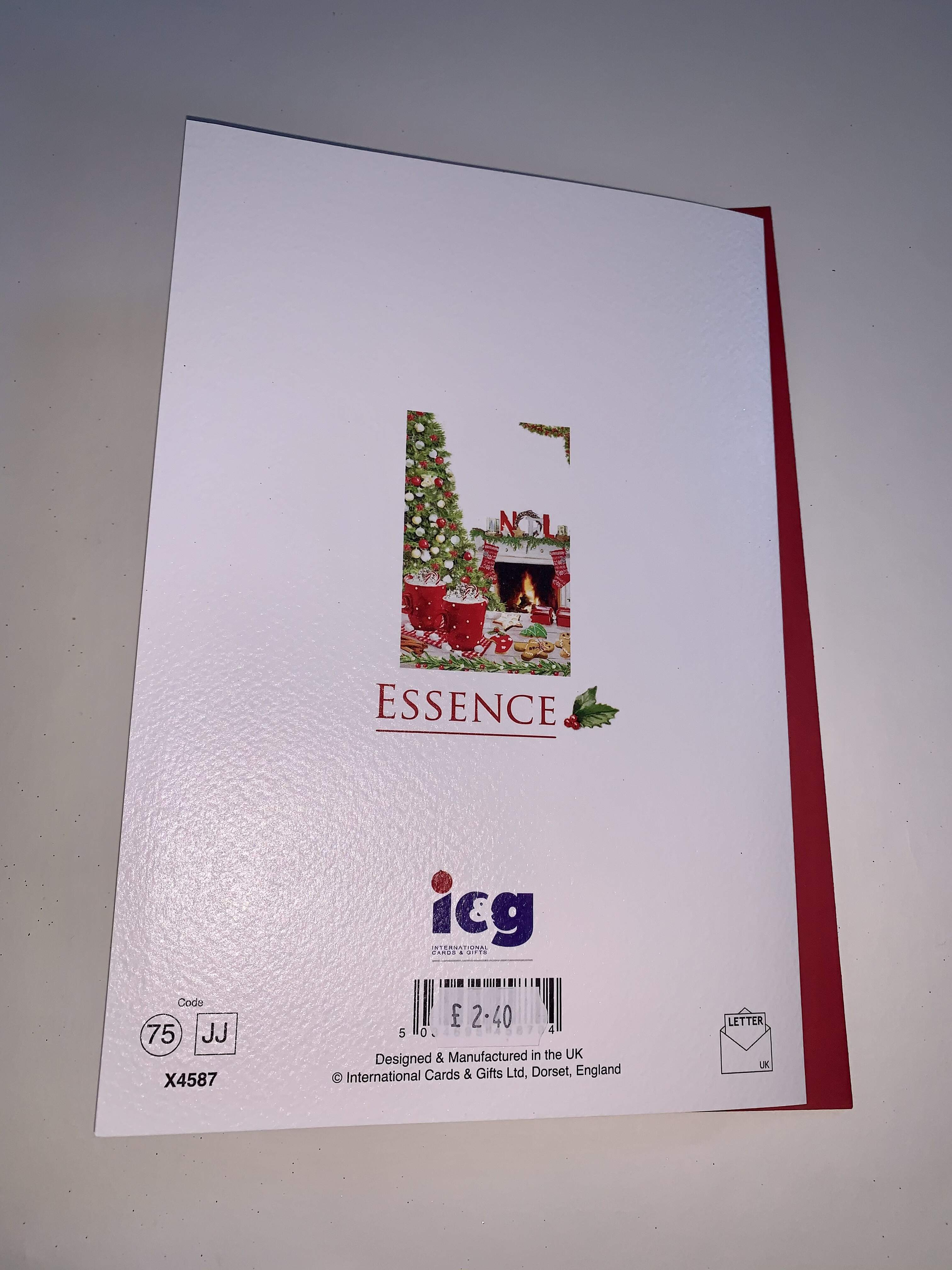 ICG Son and Partner Christmas Card