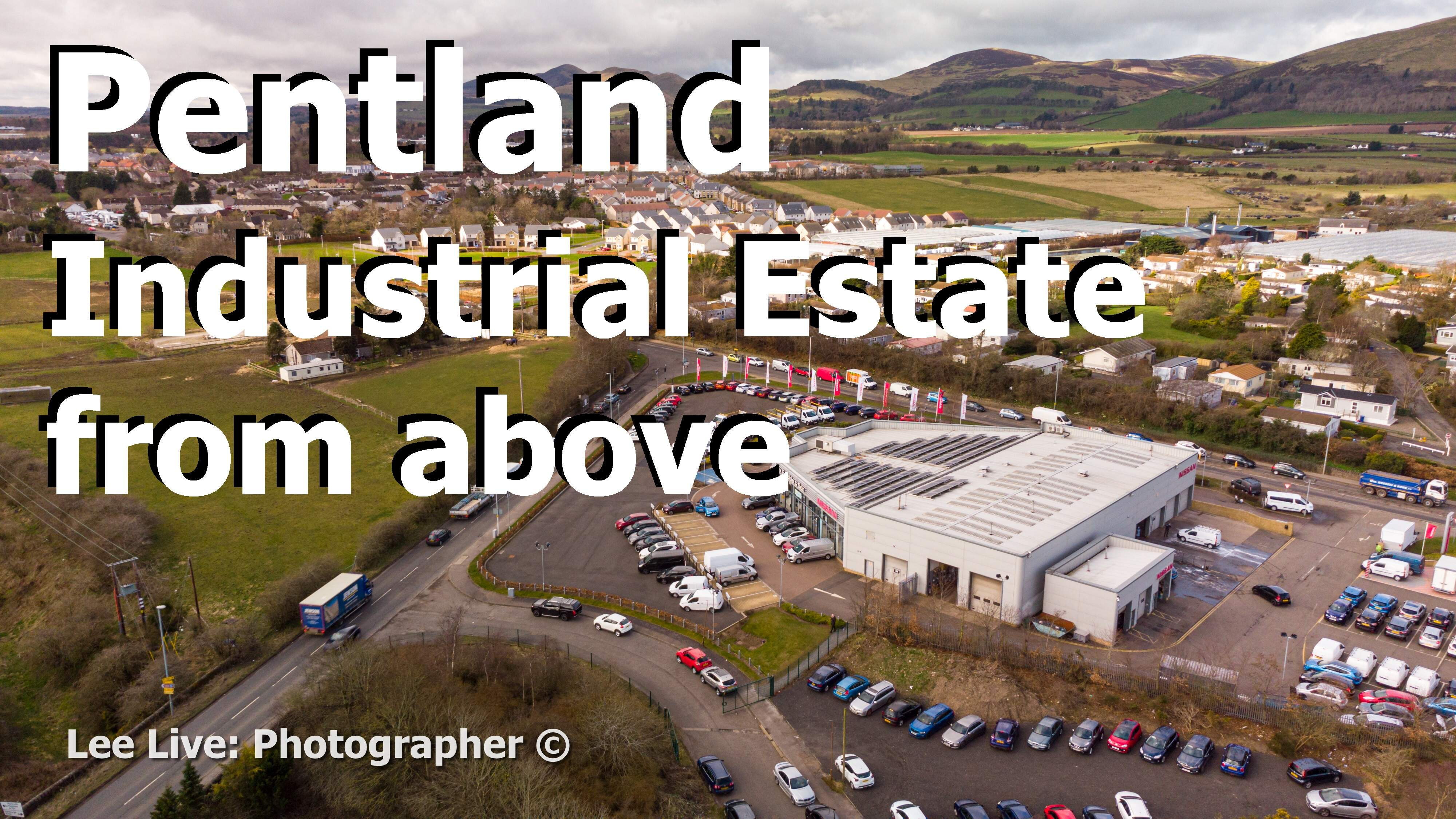 Aerial Drone Videography: Pentland Industrial Estate (and Greenbank Garage)