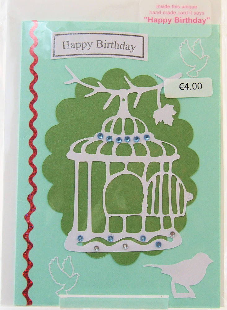 Handmade 'Happy Birthday' Card - 19