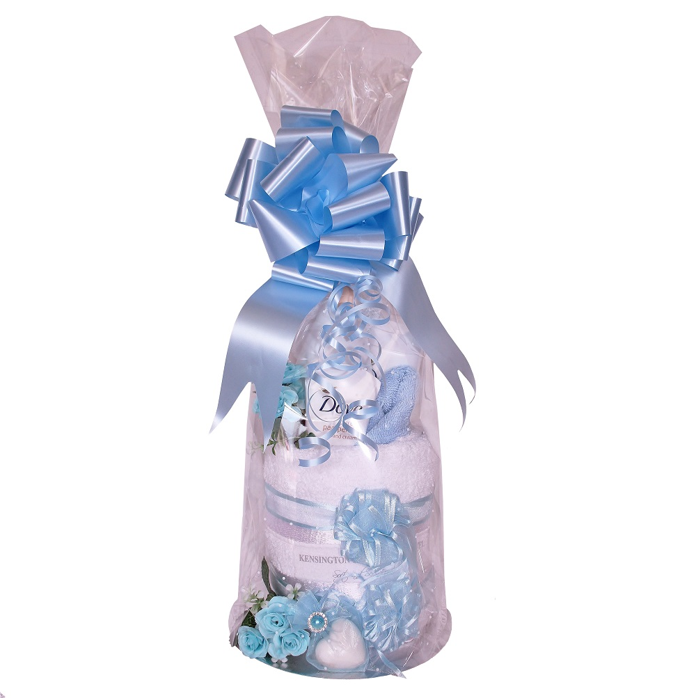 Pamper Wrap - Blue