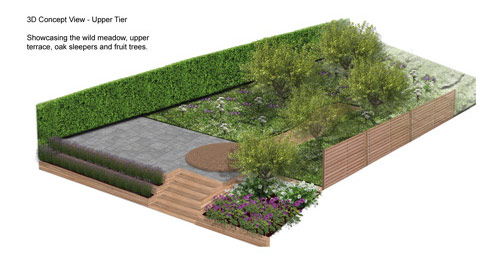 3D Concept design by Wonderful Gardens