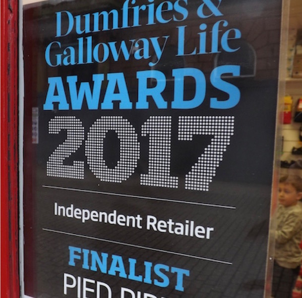2017 Dumfries and Galloway Life Independent Retailer Finalist