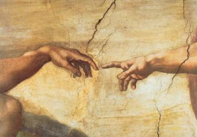 Michelangelo-The-Creation-of-Adam-7157jpeg