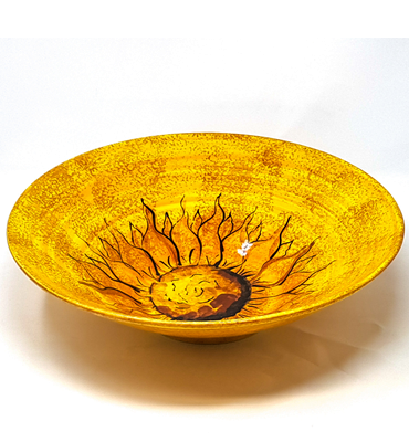 Sunflower Large Conical Bowl from the Verano Range