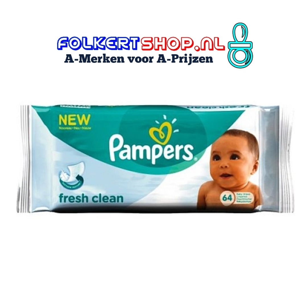 Pampers billendoekjes fresh clean