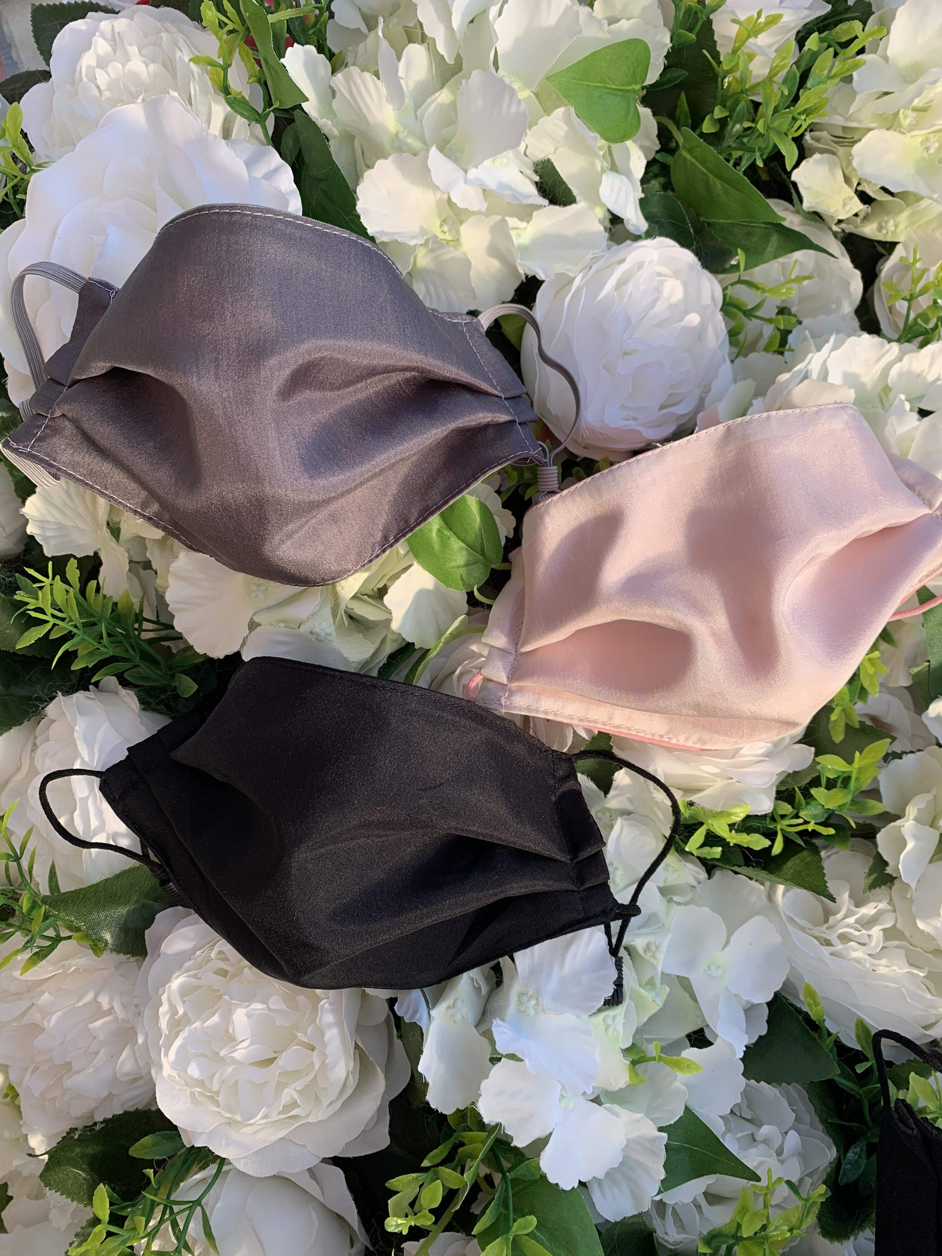 Face coverings - silk