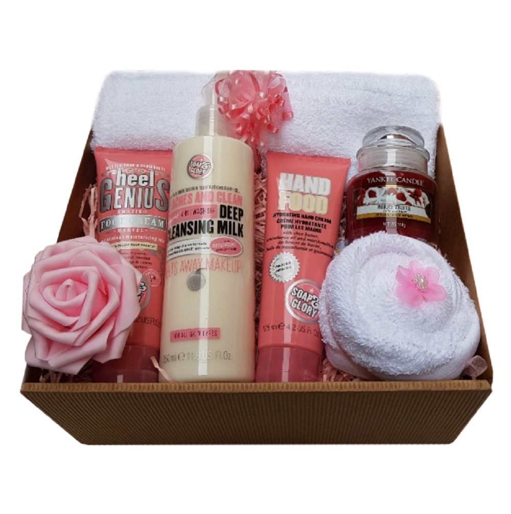 Beautiful Gift Box - with Soap & Glory