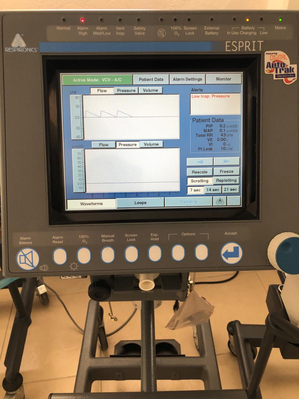 Philips respironics V 1000 neonatal adulto 1jpg