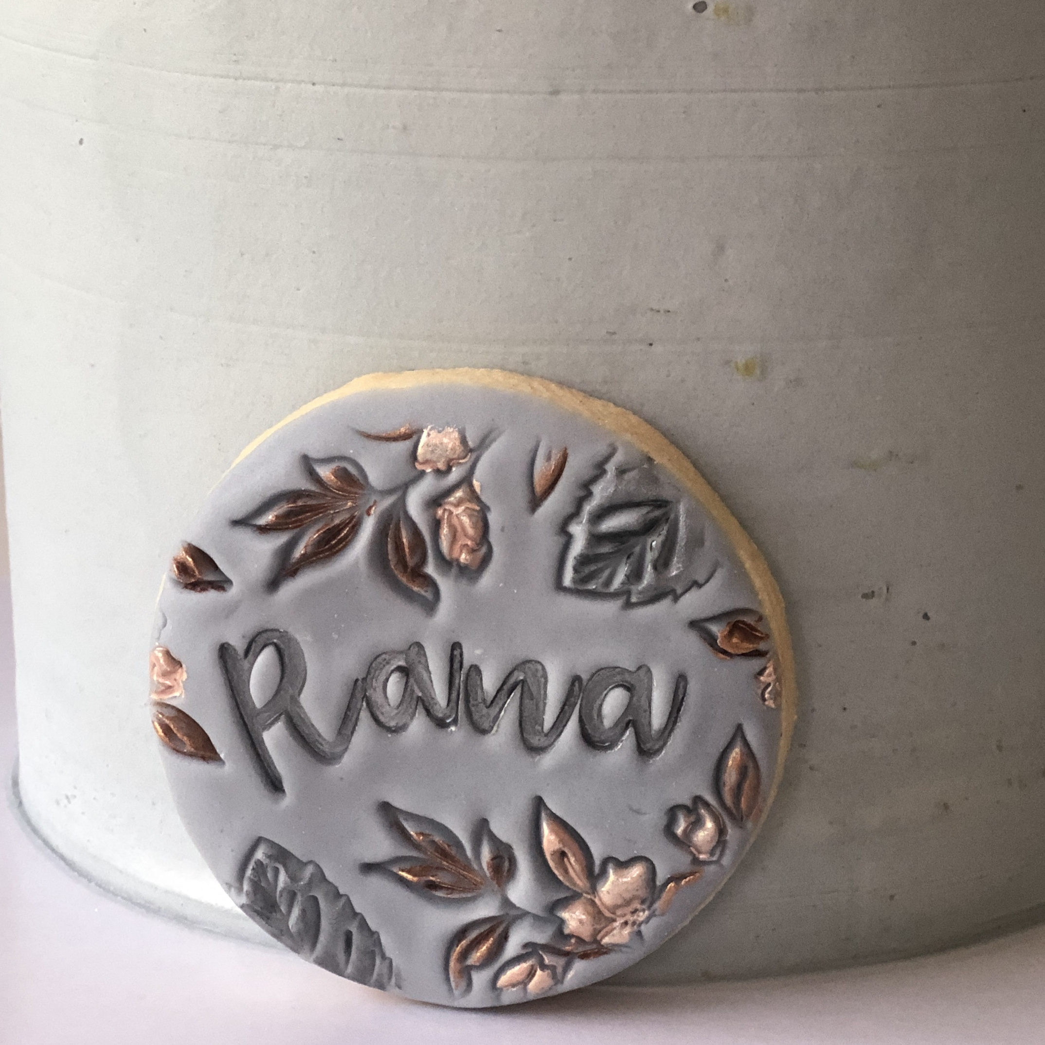 Cookie Disk - Personalise your cake