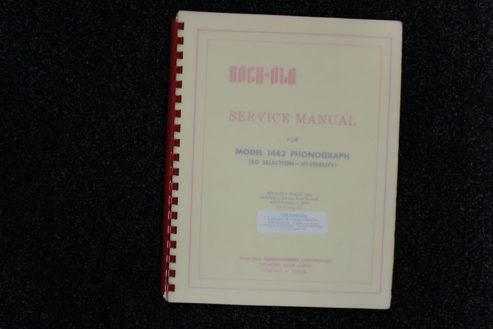 Rock-ola - Service Manual - Model 1442