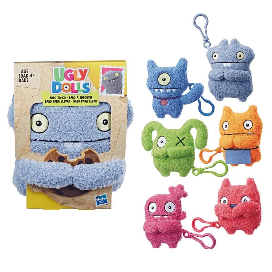"Ugly Dolls To-Go Plush Character 4.5"" Bag Clip"