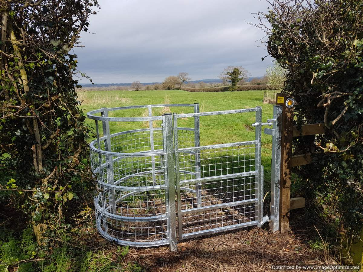 Improved footpath access at Fenns Meadow