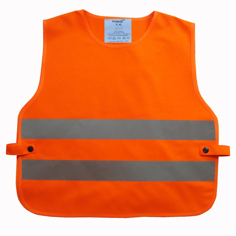 HVS269CH Children's Hi Vis Orange Reflective Tabard