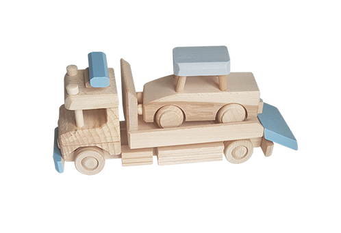 Wooden Recovery Truck