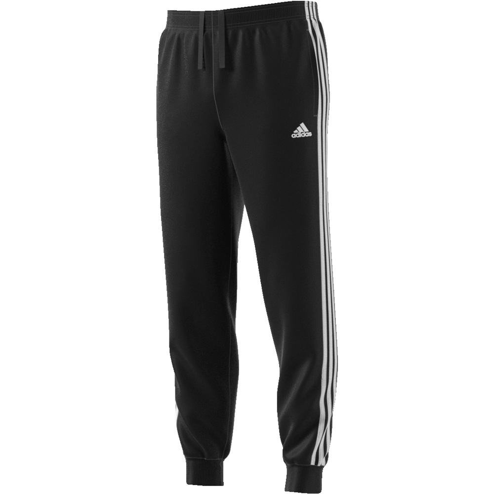 Adidas 3S Tapered Pant Black-White