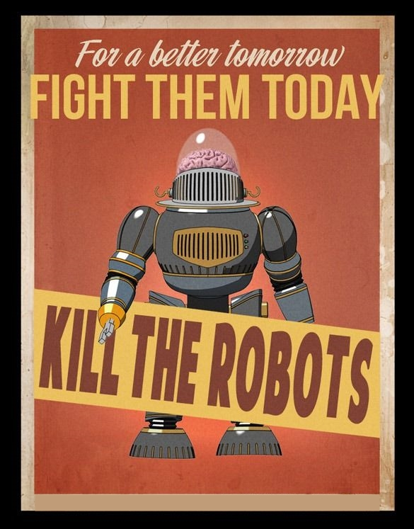 Kill the Robots graphic
